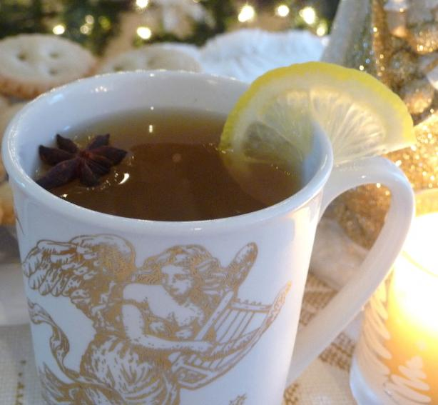 Hot Spiced Cider Tea