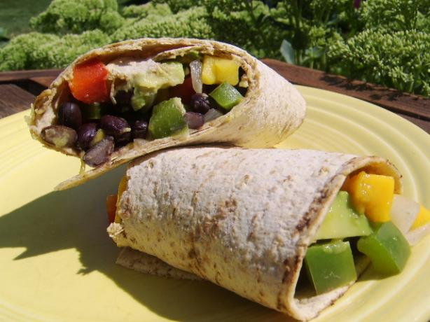 Veggie Bean Wrap