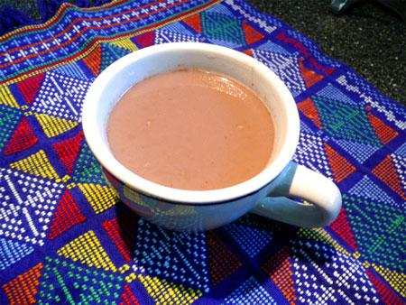 Spiced up Low Cal Hot Chocolate