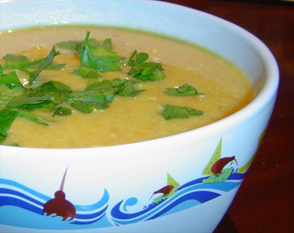 Lentil, Pasta & Vegetable Soup