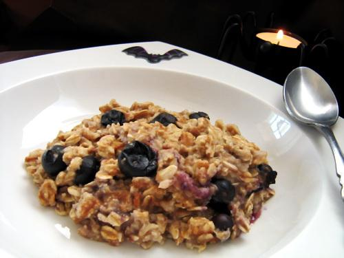 Booo Berry Oatmeal
