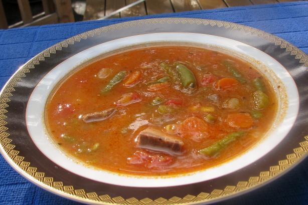 Favorite Beef Vegetable Soup