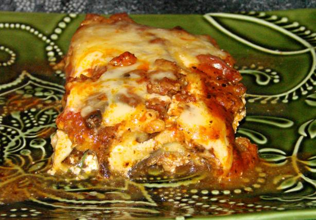 No Pasta Vegetable Lasagna