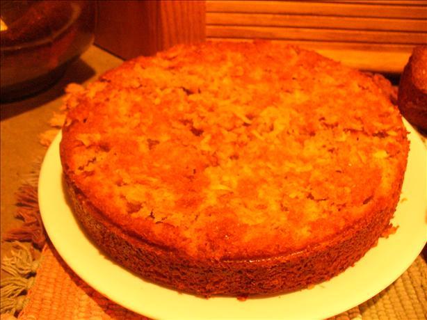 Aunt Ada's Carrot-Coconut Cake