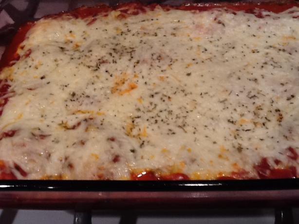 Skinny Ravioli Lasagna