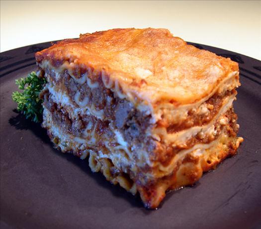 Southern No Boil Lasagna