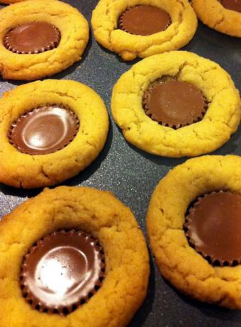 Peanut Butter Cup Cookies - Wowzers!!