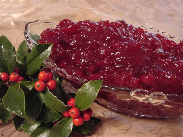 Whole-Berry Cranberry Sauce