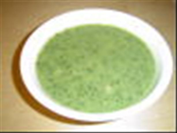 Coco - Banana's Creamless Cream of Butter Bean and Herb Soup
