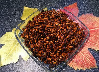 Santa Fe-Style Pumpkin Seeds (Pepitas) - 2 Ww Points