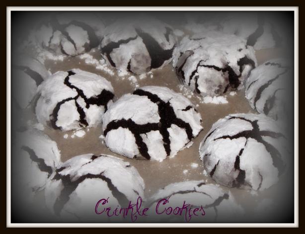 Hershey's Crinkle Cookies