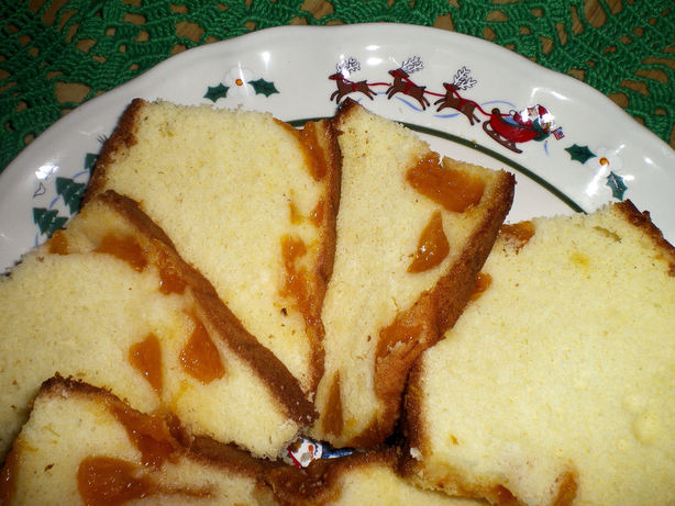 Mandarin Orange Tea Cake