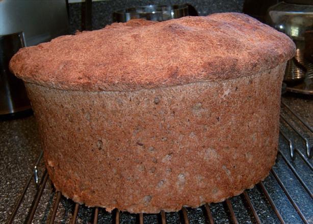 Bread Machine Applesauce Granola Bread