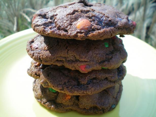 Chocolate Chocolate M&m Cookies