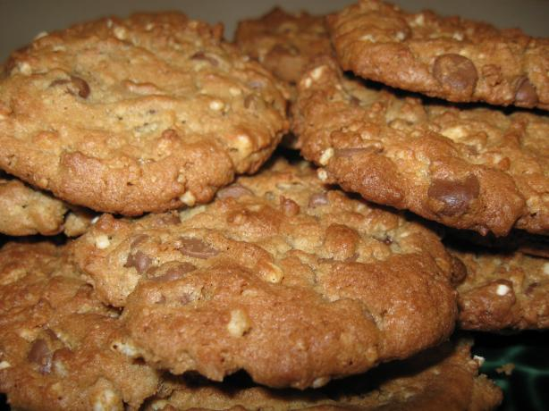 Peanut Butter Cookies With Milk Chocolate Chips