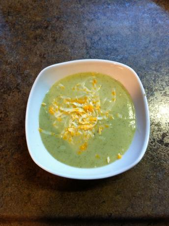 Broccoli Cauliflower Cheese Soup