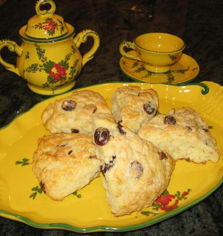 Cranberry-Orange Buttermilk Scones