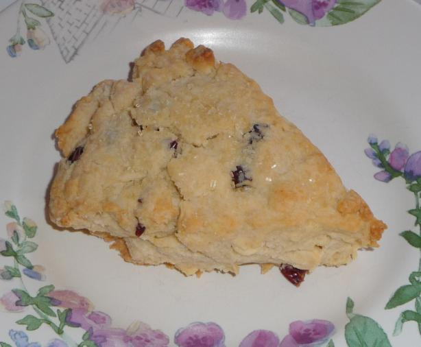Craisin Cranberry White Chocolate Scones