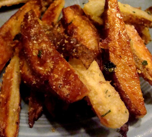 Parmesan and Garlic Fries