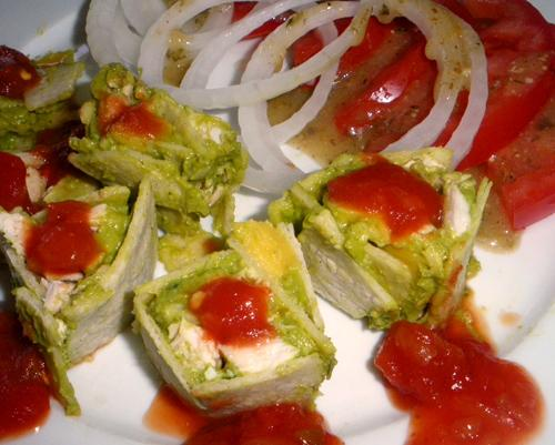 Mexican Tortilla Appetizers