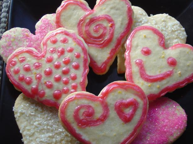 Sour-Cream Sugar Cookie Cut-Outs