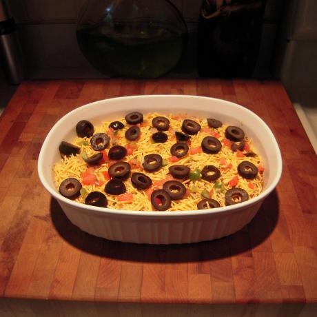 Incredible and Easy Taco Dip!