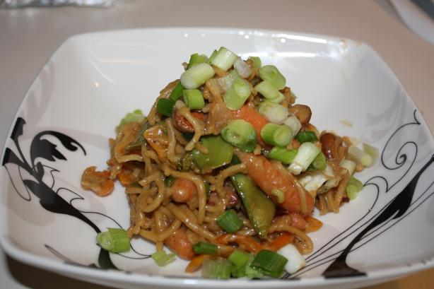 Spicy PB Stir-Fry With Yakisoba Noodles