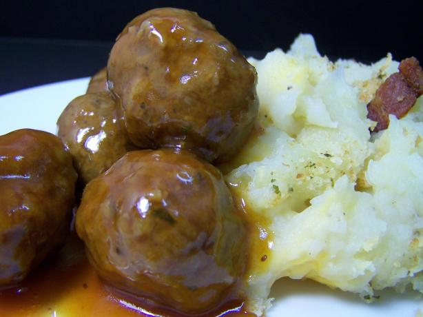 Evelyn's Sweet and Sour Meatballs