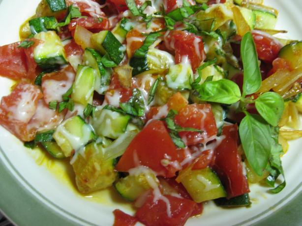 Zucchini Scramble