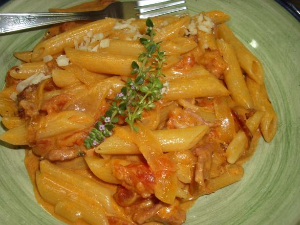 Creamy BLT Pasta (Rachael Ray)