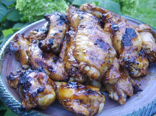 Grilled Buffalo Wings With a Bite