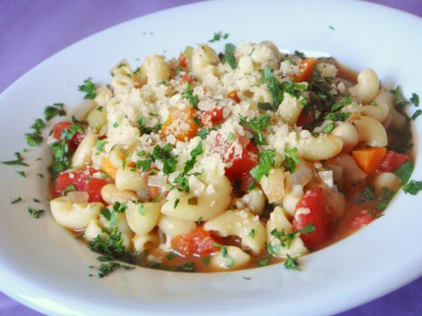 White Bean Pasta E Fagioli