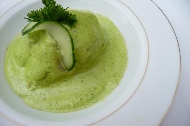 Haddock & Bacon Rolls With Green Mayonnaise