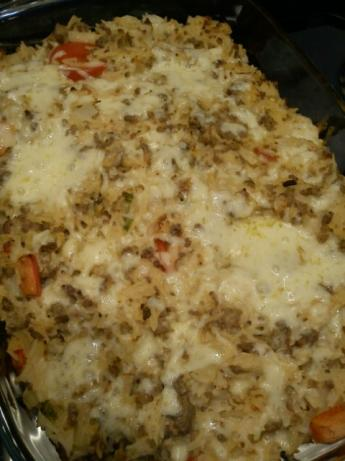 Mexican Ground Turkey Casserole