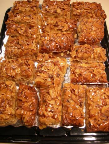 Consiglia's Almond Bars