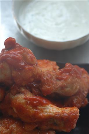 Buffalo Chicken With Better Blue-Cheese Dip