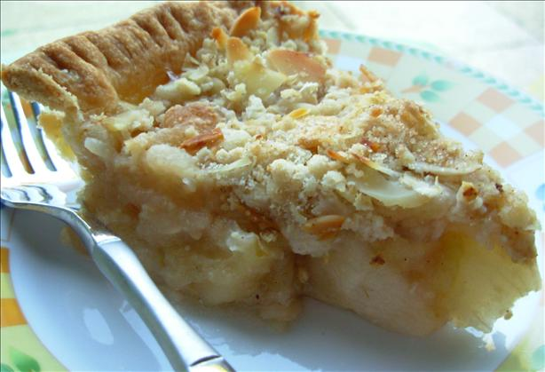 Spiced Sugar Apple Pie Light