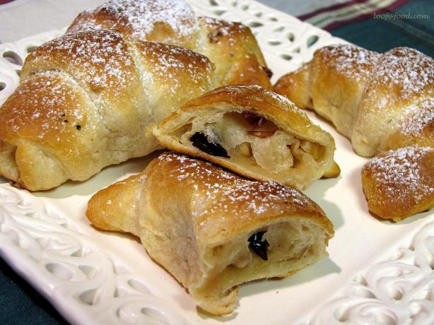 Cranberry Walnut Crescent Rolls