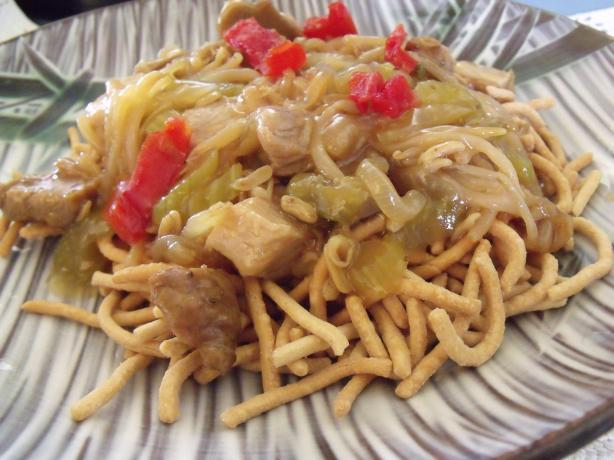 Pork Chow Mein in 30 Minutes