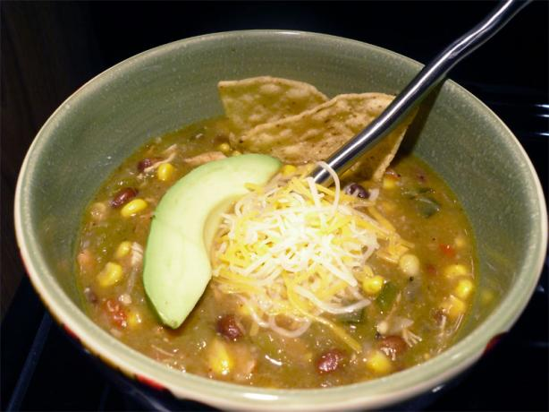 Liz's Spicy Chicken and Green Chile Soup