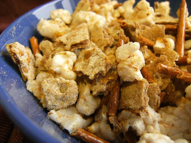 Curried Party Snack Mix
