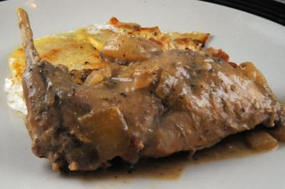 Rabbit in Mustard Sauce (Burgundy, France)