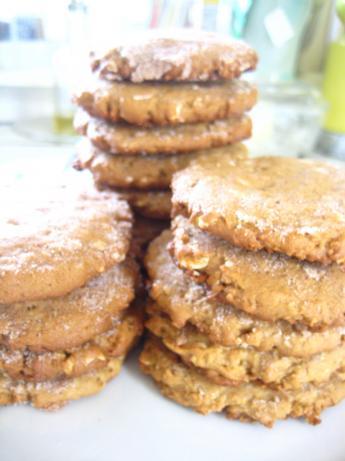 Fiber-Tastic Peanut Butter Oatmeal Cookies
