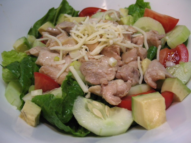 Cipherbabe's Roast Chicken Salad