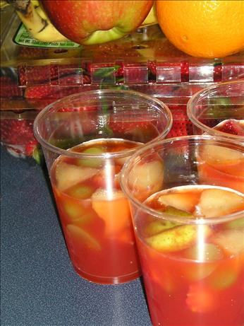 """ Sangria"" Fruit Cups (Non-Alcoholic)"
