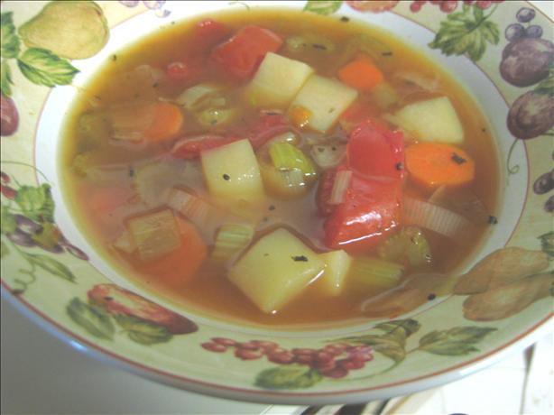 German Cream of Vegetable Soup