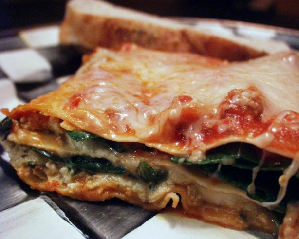 Quick & Easy Vegetarian Lasagna