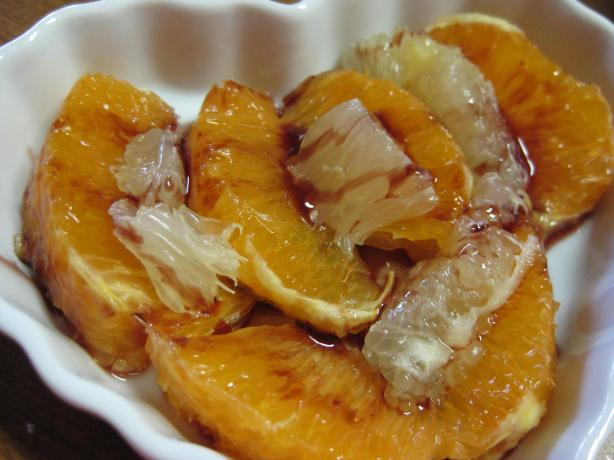 Oranges in Red Wine - Naranjas Al Vino Tinto