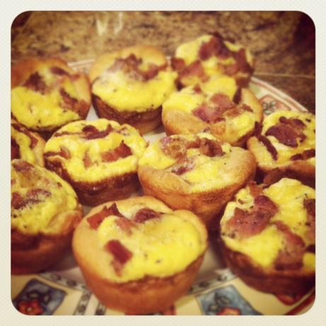 Bacon Egg and Cheese Biscuit Cups