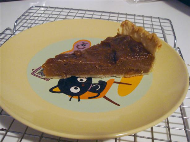 Canadian Brown Sugar Pie